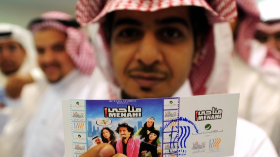 """In 2008, a rare screening of the Saudi comedy film """"Manahi"""" in Jeddah raised hopes -- that were eventually dashed -- that a then three-decade ban on cinema in the kingdom could be lifted."""