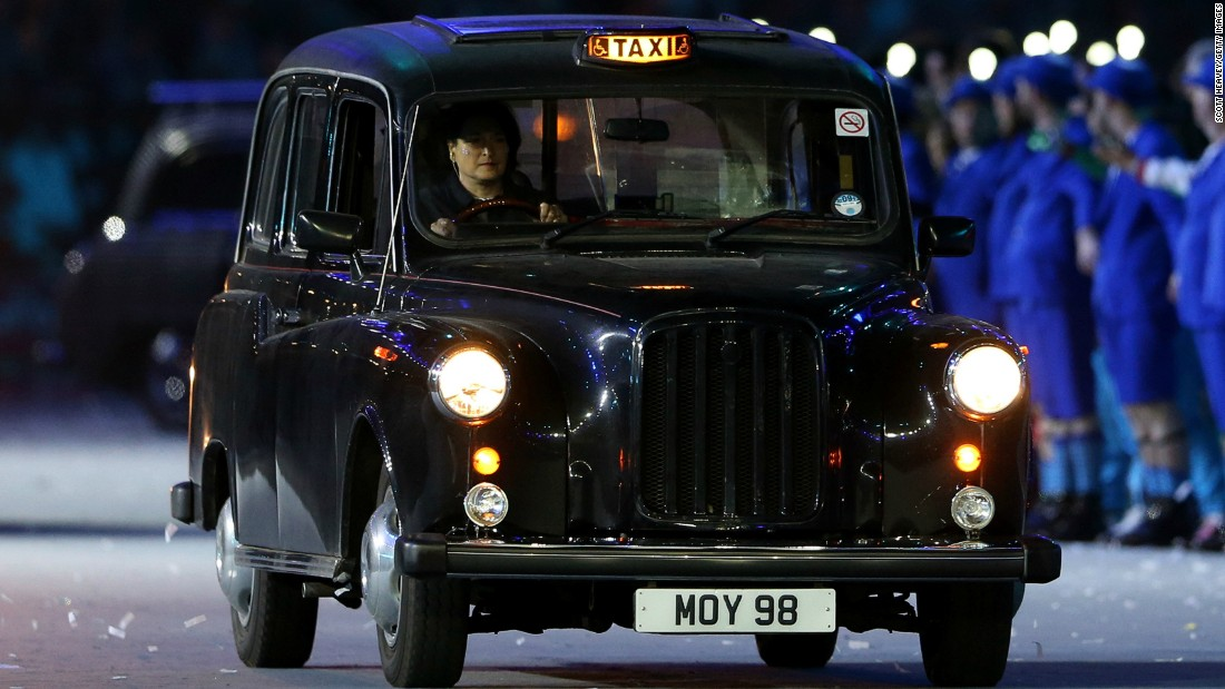 Now appearing in a variety of makes and colors, the legendary London black cab, also called a Hackney carriage, evolved from the horse-drawn 17th century horse-drawn Hackney coaches. <br />