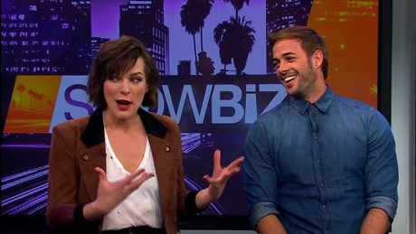 cnnee showbiz intvw milla jovovich william levy resident evil final chapter zombis_00001417