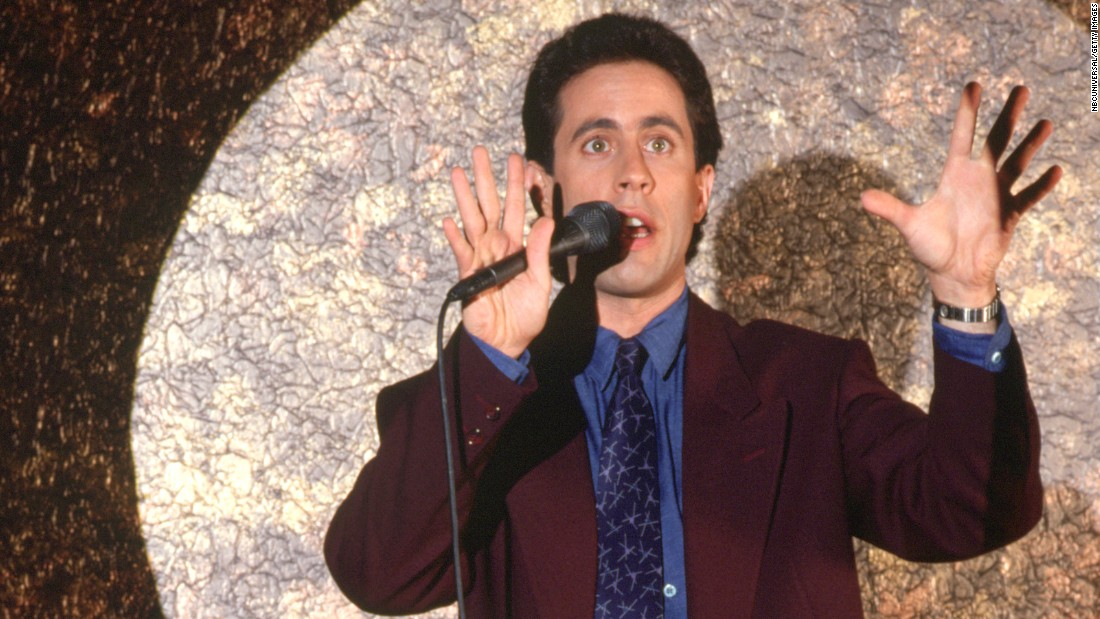 "For a guy who created a show about nothing, Jerry Seinfeld's done incredibly well for himself. After honing his observational humor skills as a stand-up comedian, Seinfeld found massive success with the NBC comedy ""Seinfeld,"" easily one of TV's most iconic series. He's still transforming the genre today but offering a new spin on his casual comedy style with the web series ""Comedians in Cars Getting Coffee."""