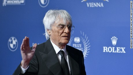 Bernie Ecclestone has been removed as F1 chief executive following Liberty Media's takeover.
