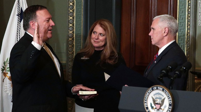 Pompeo's wife emailed State Department staff for help with personal Christmas cards, source says
