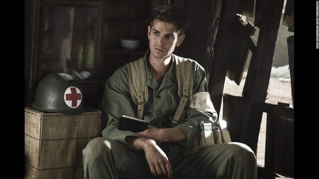 "<strong>Best actor: </strong>Andrew Garfield, pictured (""Hacksaw Ridge""); Casey Affleck (""Manchester by the Sea""); Ryan Gosling (""La La Land""); Viggo Mortensen (""Captain Fantastic""); and Denzel Washington (""Fences"")."