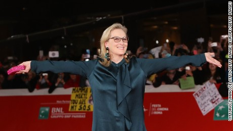 Cheering Meryl Streep Newest Meme Craze Cnn