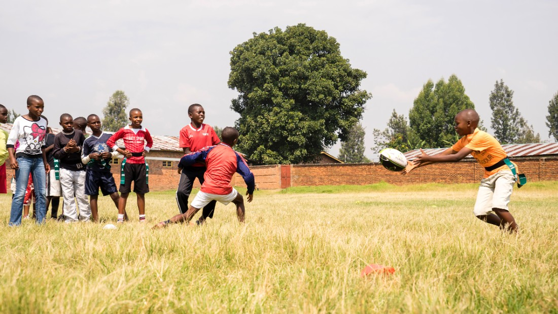 There are hopes the younger generation can have aspirations of playing in the Sevens World Series or the World Cup in the future.