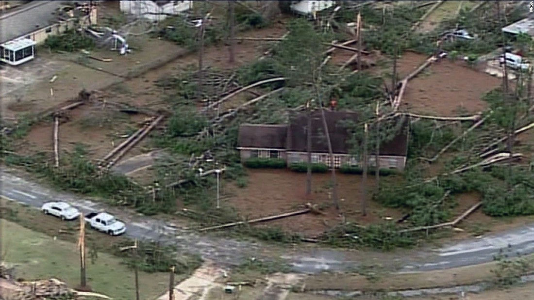 Deadly tornadoes tore through communities across the Southeast on Monday, including the city of Albany, Georgia.