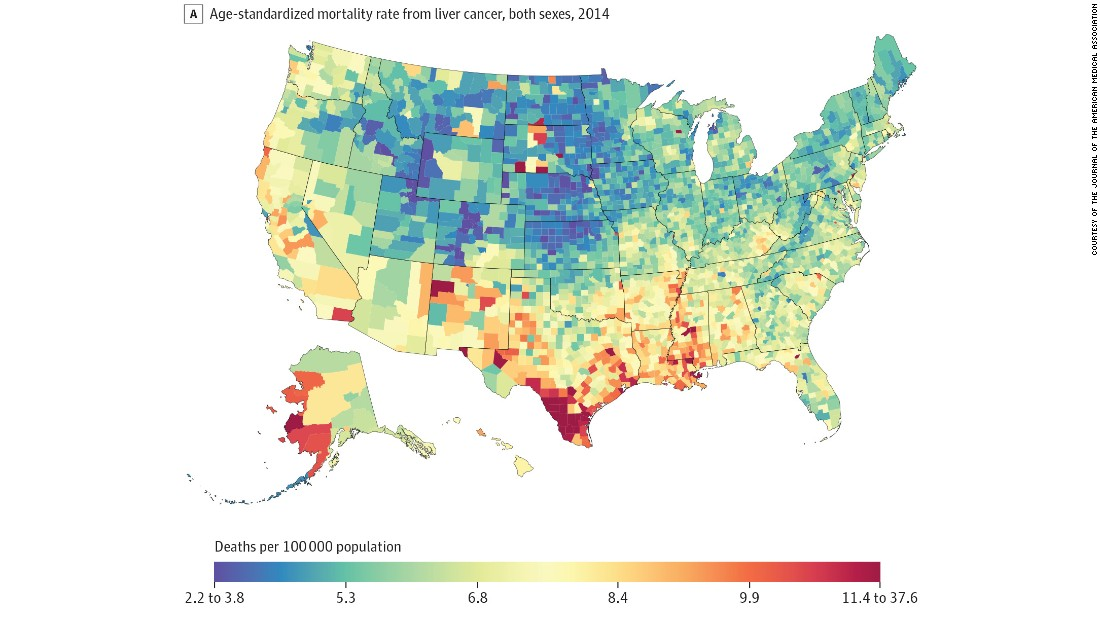Cancer down nationwide but hot spots persist CNN