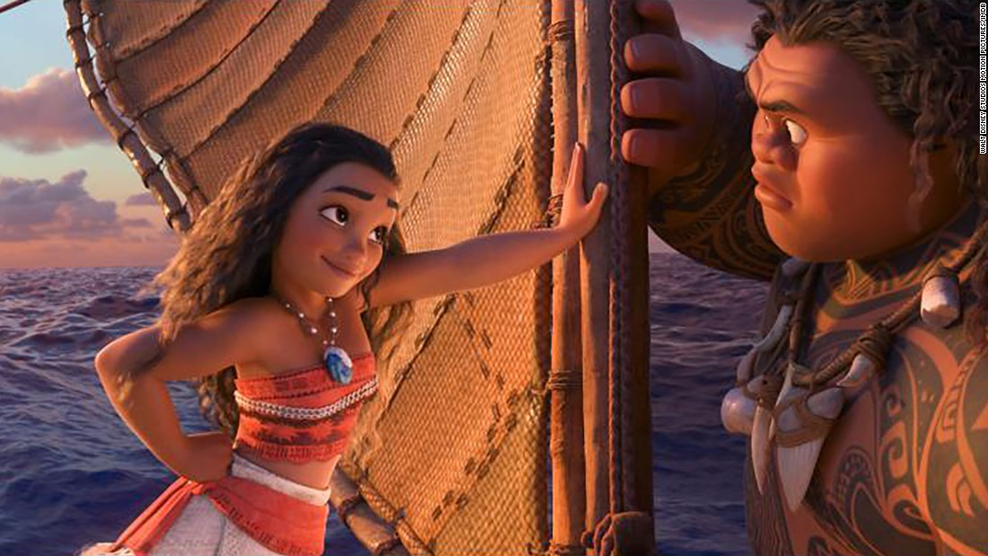 "<strong>Best animated feature: </strong>""Moana,"" pictured; ""Kubo and the Two Strings""; ""My Life as a Zucchini""; ""The Red Turtle""; and ""Zootopia."""