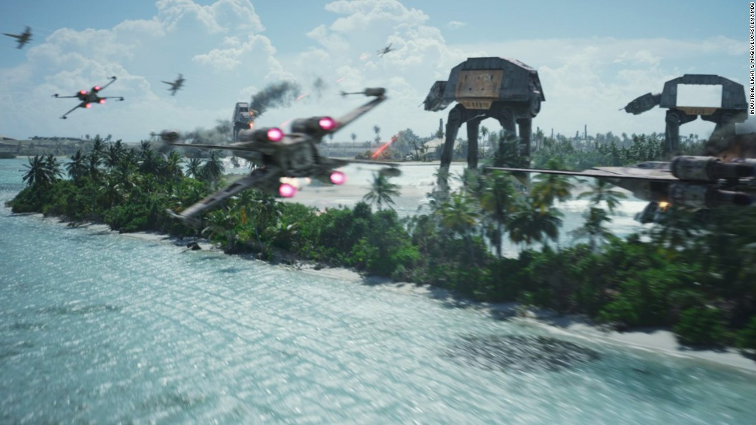 "<strong>Best visual effects: </strong>""Rogue One: A Star Wars Story,"" pictured; ""Deepwater Horizon""; ""Doctor Strange""; ""The Jungle Book""; and ""Kubo and the Two Strings."""