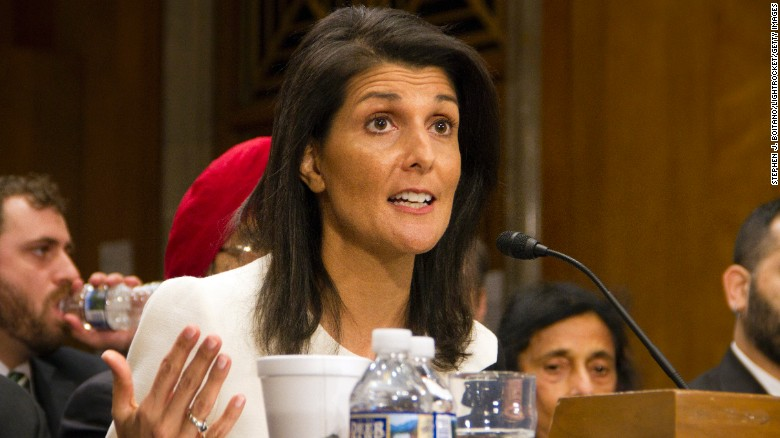 Haley: US embassy could be part of peace deal