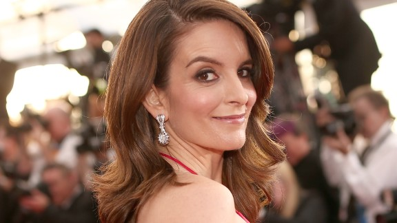 LOS ANGELES, CA - JANUARY 30: Actress Tina Fey  attends The 22nd Annual Screen Actors Guild Awards at The Shrine Auditorium on January 30, 2016 in Los Angeles, California. 25650_018  (Photo by Christopher Polk/Getty Images for Turner)