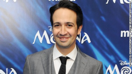 "LONDON, ENGLAND - NOVEMBER 20:  Lin-Manuel Miranda attends the UK Gala screening of ""MOANA"" at BAFTA on November 20, 2016 in London, England.  (Photo by Eamonn M. McCormack/Getty Images)"