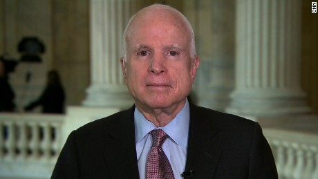 McCain on Trump torture stance: 'The law is the law'