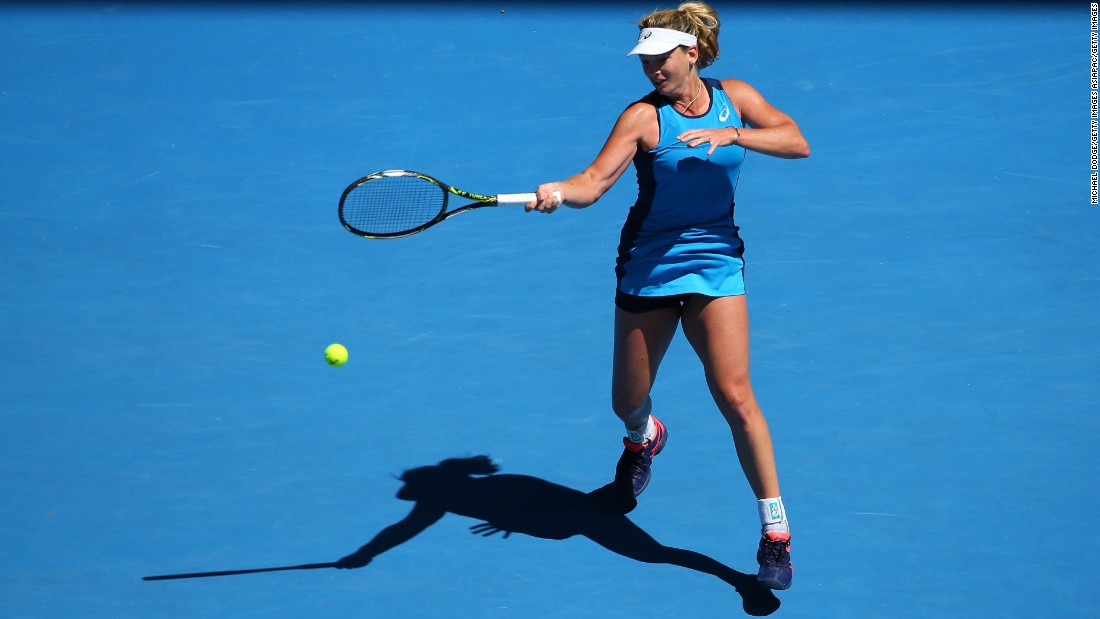 Vandeweghe is something of an anomaly in the women's draw. The 25-year-old will play in her first grand slam semifinal at the Australian Open.