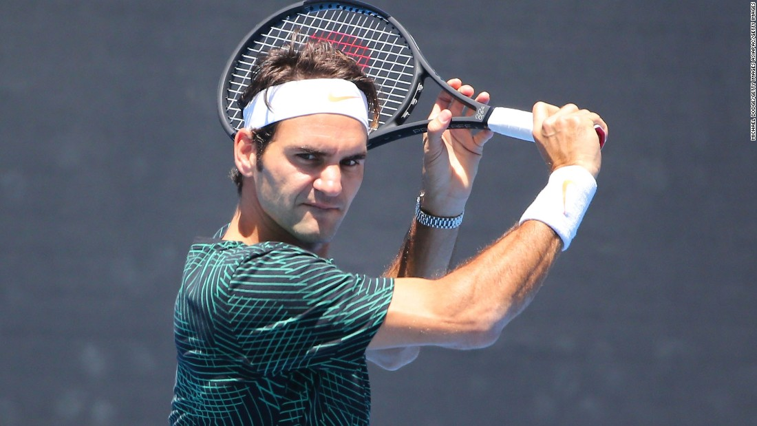 Roger Federer, who turned 35 last August, has also breezed through the tournament so far. He will face Stan Wawrinka in the other men's semi.
