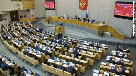 The Duma has approved the draft bill in two readings, on Wednesday voting overwhelmingly in its favor.