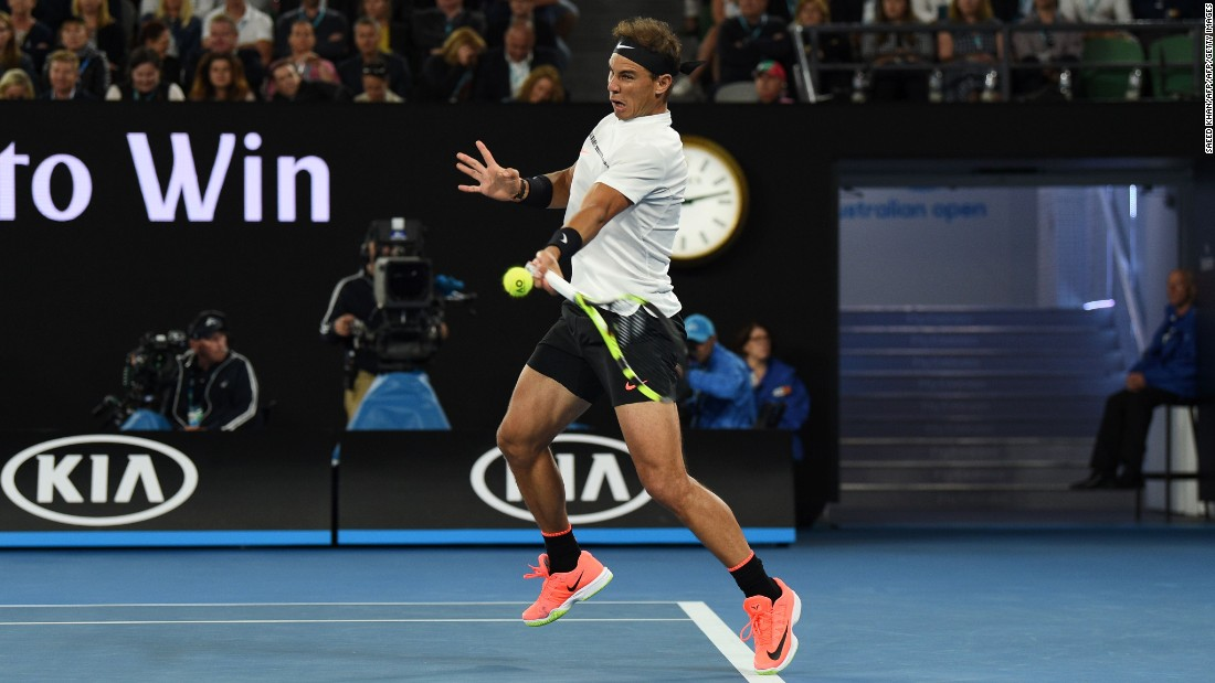 In the men's draw, Rafael Nadal overcame No. 3 seed Milos Raonic Wednesday to book a date with Grigor Dimitrov in the semis. The 30-year-old is a grand slam veteran with 14 titles to his name.