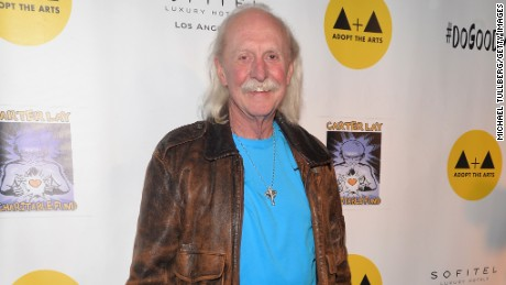 Butch Trucks in 2015 at The Roxy Theatre in West Hollywood.