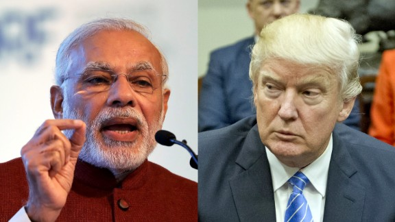 Trump meets Modi Monday at the White House