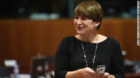 "Dutch official Lilianne Ploumen is taking aim at the US ""global gag rule."""