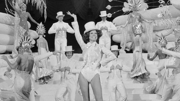 """Moore dances in """"Mary's Incredible Dream,"""" a CBS special in 1975."""