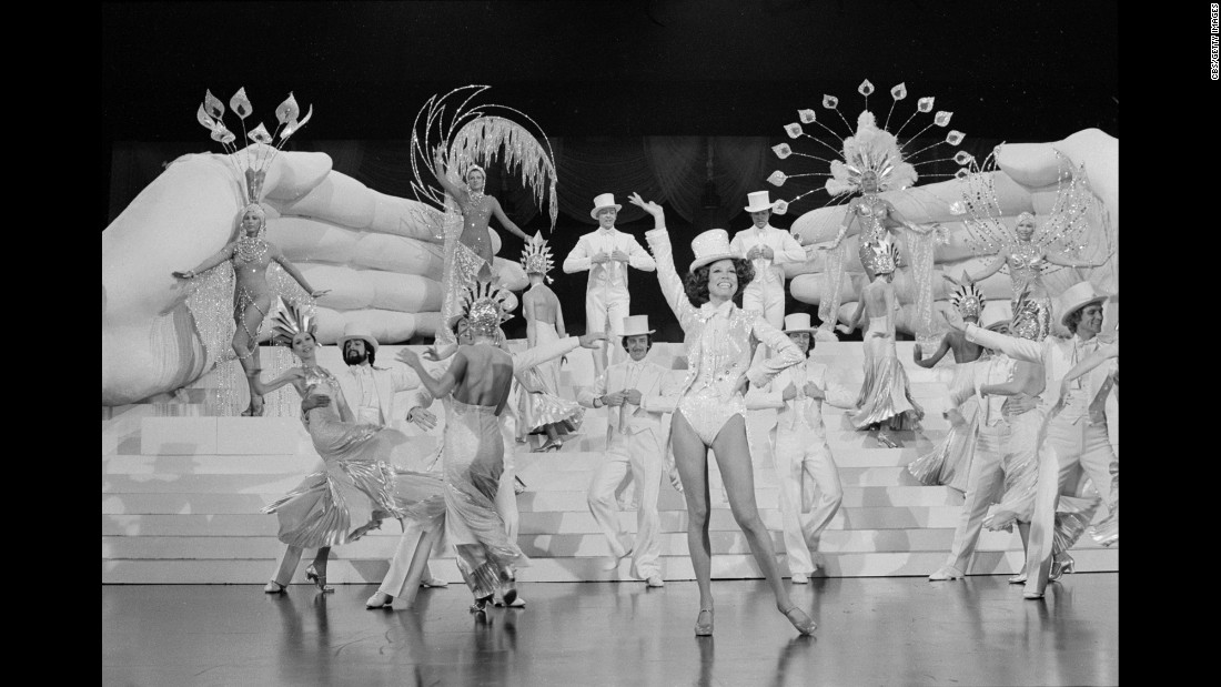 "Moore dances in ""Mary's Incredible Dream,"" a CBS special in 1975."