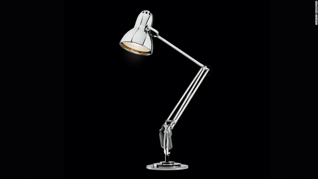 From George Carwardine to Paul Smith, an array of British designers have made their mark on the adjustable Anglepoise Lamp. The first version was unveiled by Carwardine in 1932, but the classic model pictured is attributed the company's design director Sir Kenneth Grange.<br />