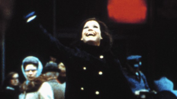 """The opening sequence of """"The Mary Tyler Moore Show"""" -- with Moore twirling and tossing her cap -- became iconic."""