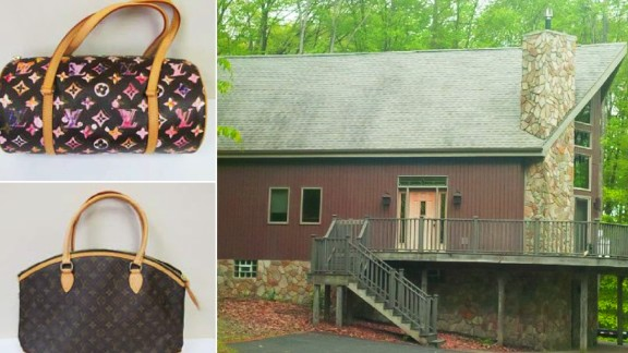 A few houses and several dozens of Louis Vuitton handbags were also purchased with the stolen, authorities said.