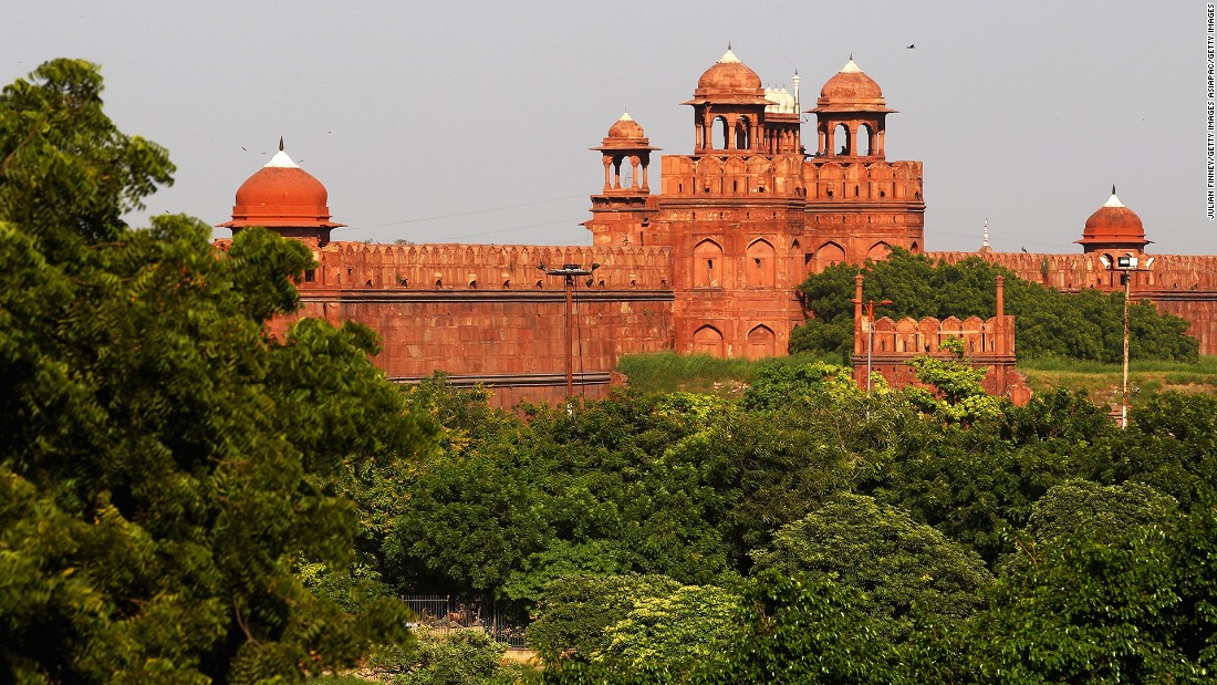 <strong>Red Fort, New Delhi:</strong> A UNESCO World Heritage site, New Delhi's Red Fort was the main home of Mughal dynasty emperors for nearly 200 years. One of the city's most popular tourist attractions, it houses a number of museums.
