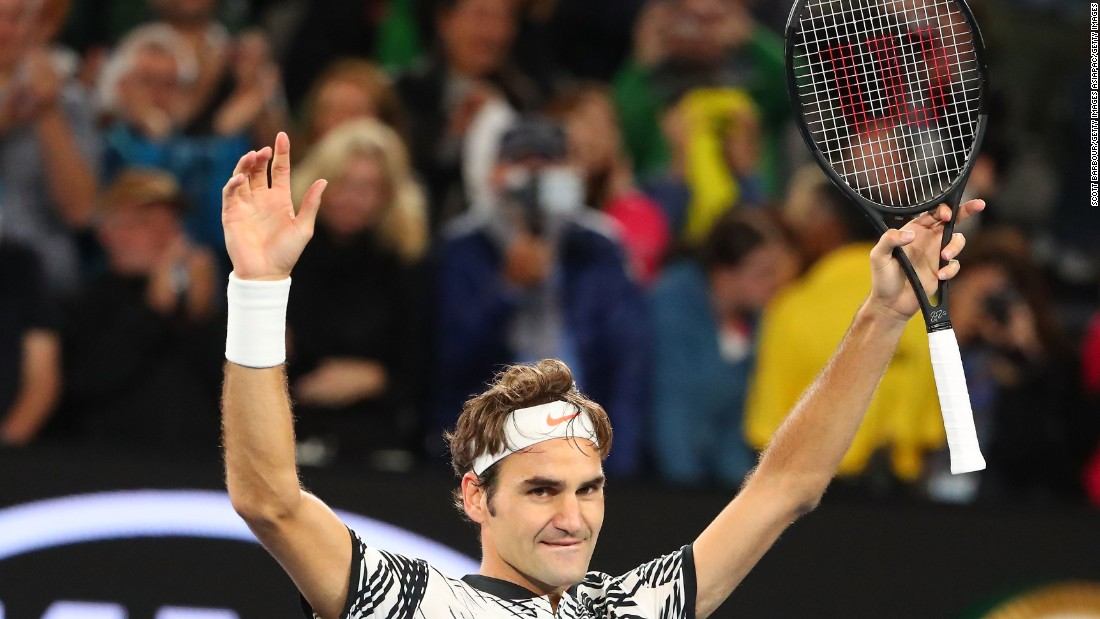 Roger Federer beat compatriot Stan Wawrinka in five sets Thursday to reach his first grand slam final since the US Open in 2015.