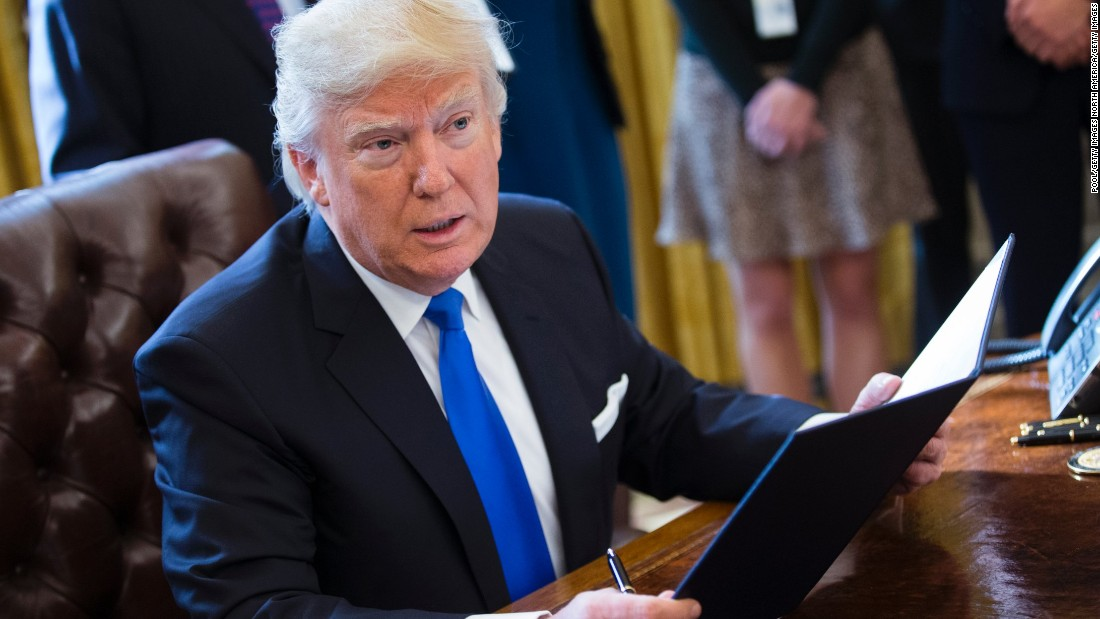 Every Order Trump Has Signed And What His Actions Mean Cnnpolitics