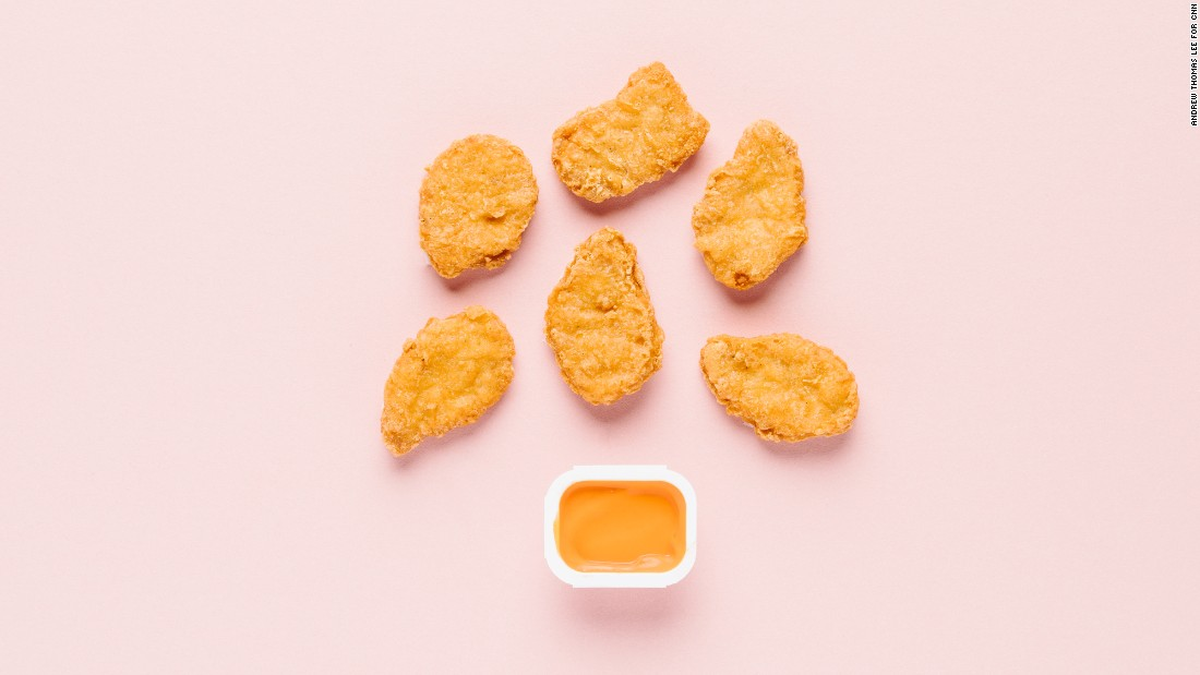 The lowest-sugar option on McDonald's menu is an order of chicken McNuggets, with zero grams. Adding the spicy buffalo dipping sauce, made with cayenne pepper, won't contribute any sugar grams, either.