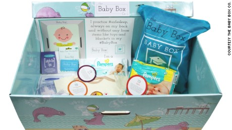All expecting parents living in New Jersey are eligible to receive a Baby Box, which includes newborn essentials.