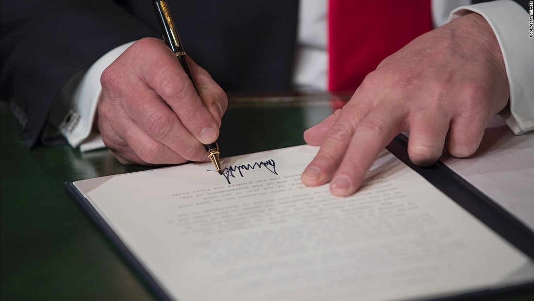 How Presidents Make Their Marks Cnnpolitics