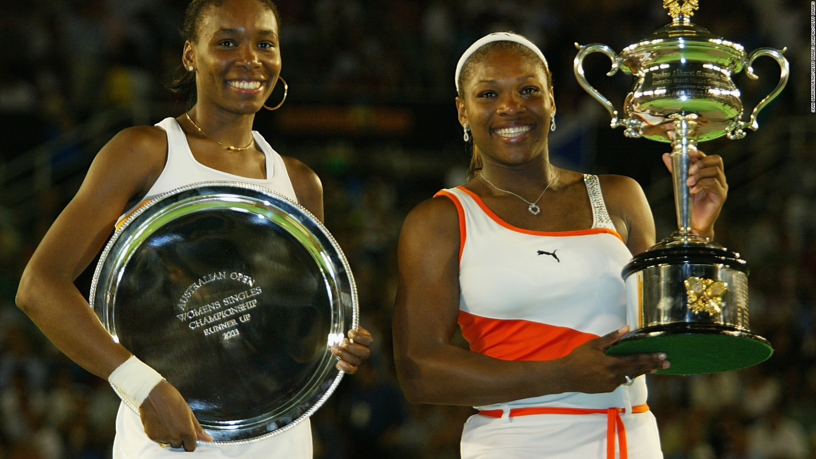 Sisters Williams won the first trophy AO-2009 36