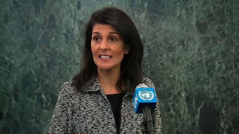 Haley to UN: 'We're taking names'