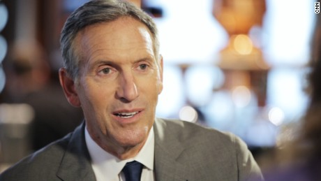 The American Dream New York - Howard Schultz interview still