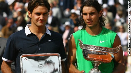 Nadal won the French Open nine times in 10 years -- beating Federer in four finals.