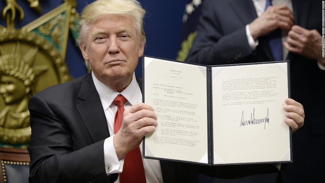 Full text of Trump's executive order on 7-nation ban ...