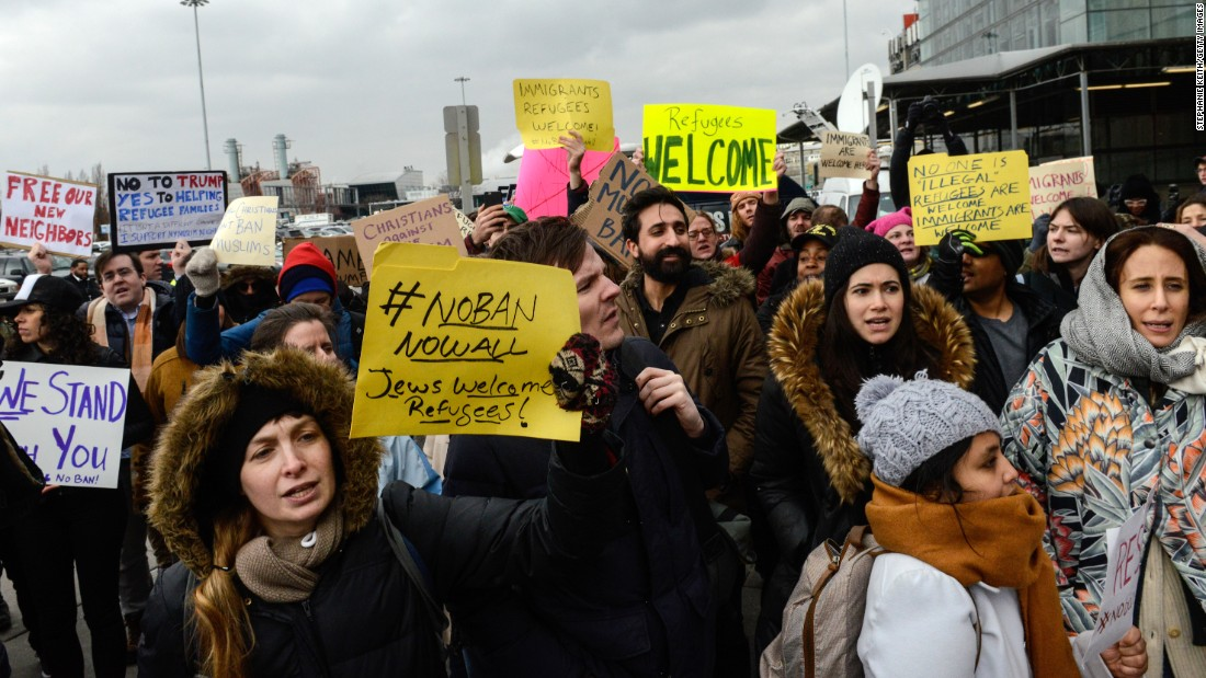 The Truth About The Travel Ban Protests