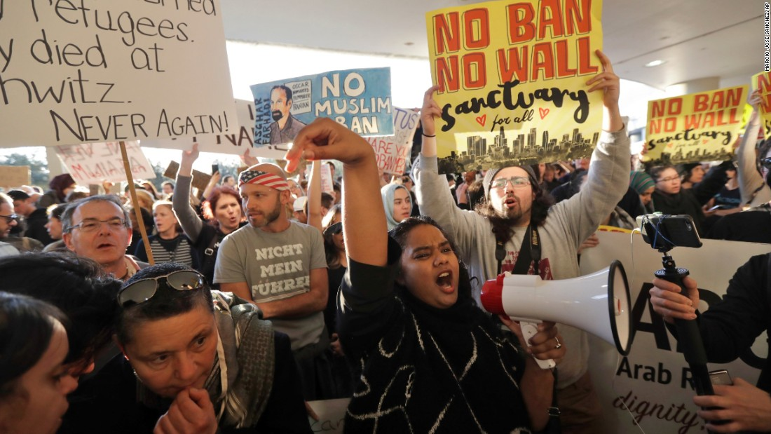 Us Travel Ban Protests