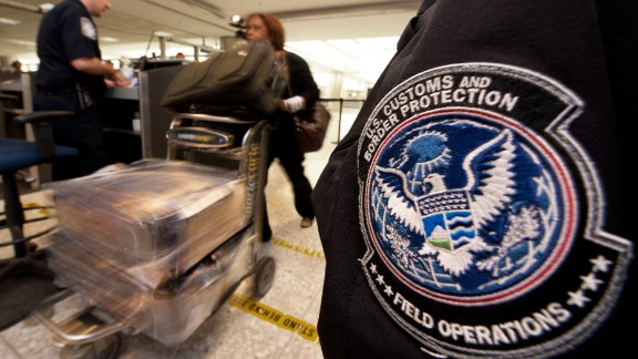 Customs and Border Protection said all airports were back online after the outage lasted from 7:30 p.m. to about 9:30 p.m. ET on Monday.