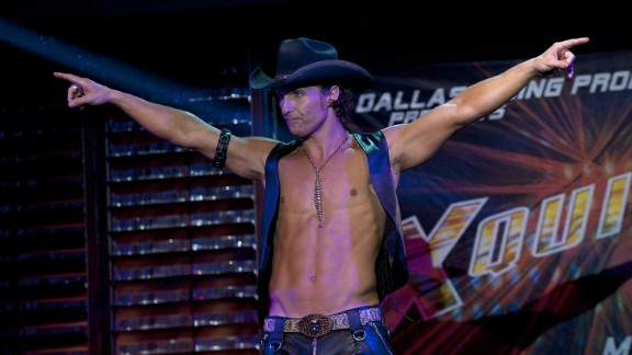 """""""Magic Mike"""" : Matthew McConaughey and Channing Tatum star in this film about male strippers based on Tatum's own experiences in the field. (Netflix)"""