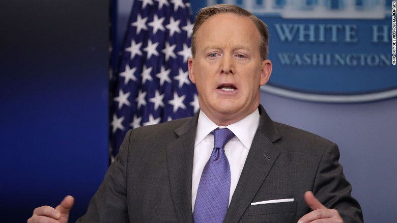 Spicer slams criticism of Holocaust statement