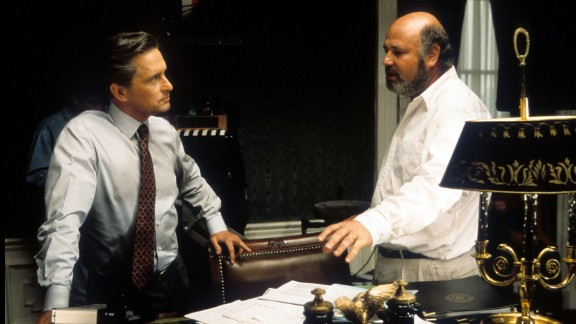 """""""The American President"""" : Michael Douglas and director Rob Reiner came together for this political drama. (Hulu)"""
