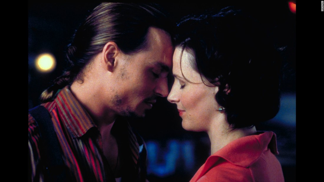 "<strong>""Chocolat""</strong> : Johnny Depp and Juliette Binoche star in this romantic film based on the popular novel of the same name by Joanne Harris. <strong>(Hulu) </strong>"