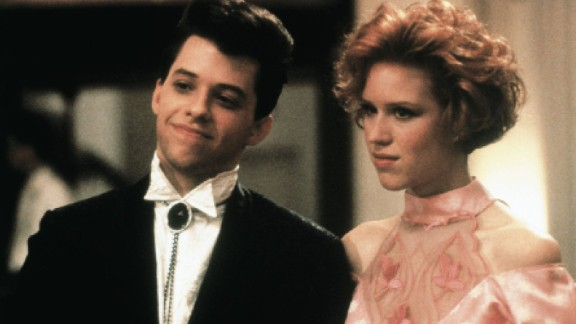 """""""Pretty in Pink"""" : Director John Hughes ruled the teen movie market in the '80s and this film starring Jon Cryer and Molly Ringwald is part of his impressive cannon. (Amazon Prime, Hulu)"""