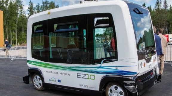 A two month testing period of the EZ10 was conducted in Dubai