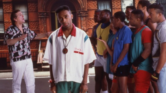 """""""Do The Right Thing"""" : Spike Lee both starred in and directed this 1989 film about an explosive summer day in New York City. (HBO Now)"""